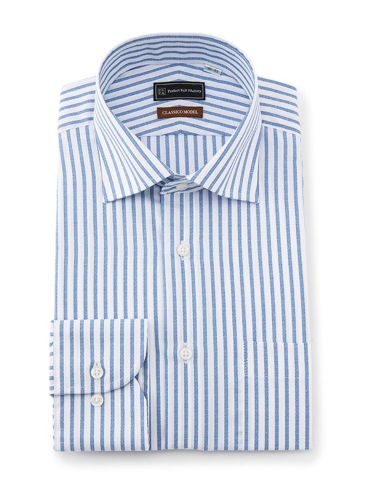 P.S.FA(パーフェクトスーツファクトリー)のおすすめワイシャツは、クレリックワイドカラー